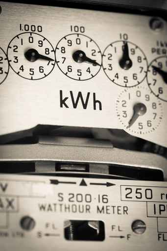 kWh electric meter