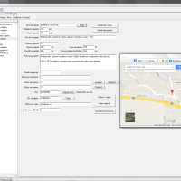 Průzkumník NET-G – formulář výjezdu hlídaného objektu v software NET-G. Informace o GPS souřadnicích umístění objektu, informace o vzdálenosti a času dojezdu od dispečerského pracoviště nebo míst odkud vyjíždí zásahový vůz. Možnost odeslat pokyny pro zásah do navigace výjezdového vozidla.