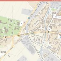 Maximální detail zobrazení mapy pro mapy společnosti Plan Studio.