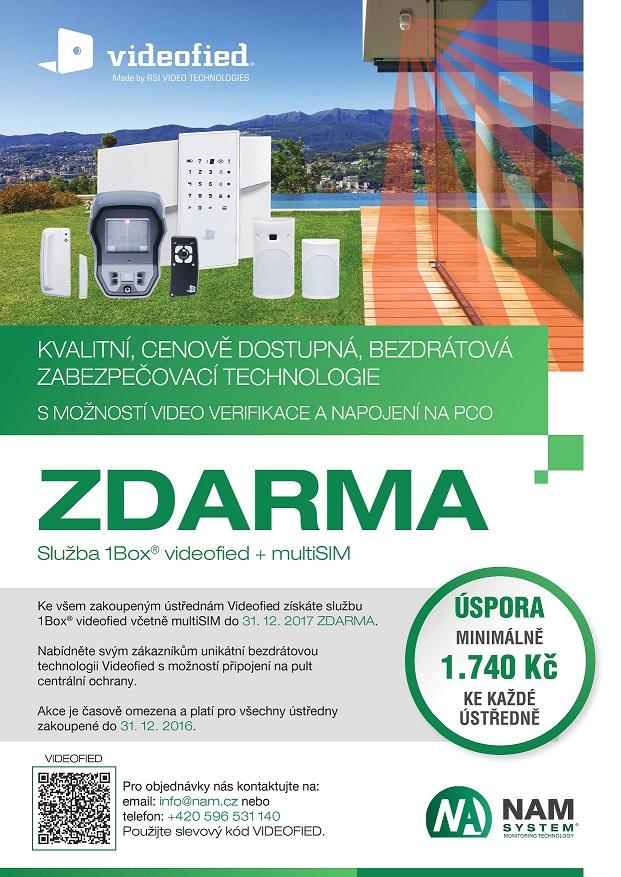 Leták 1Box videofied+SIM zdarma