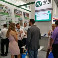 NAM system booth, IFSEC 2017