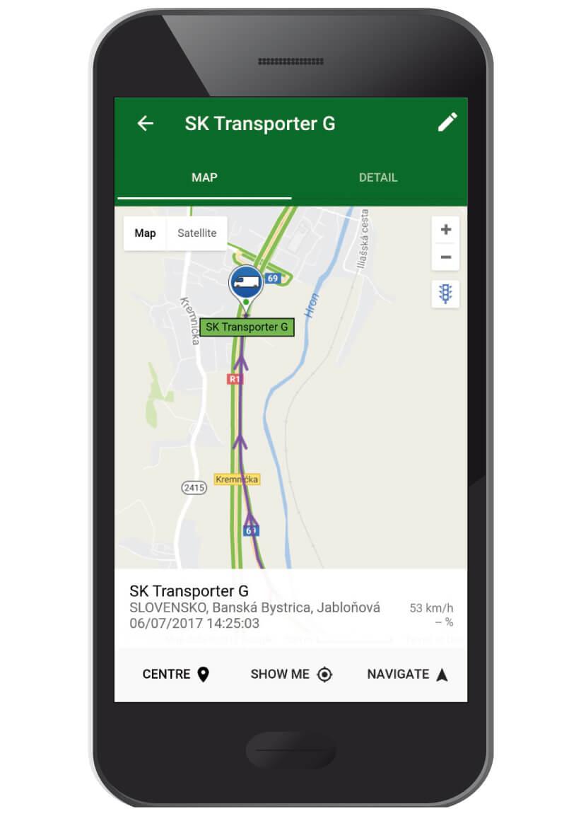 TICK tracker mobile application • NAM system
