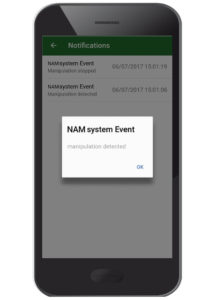 Notification of set events