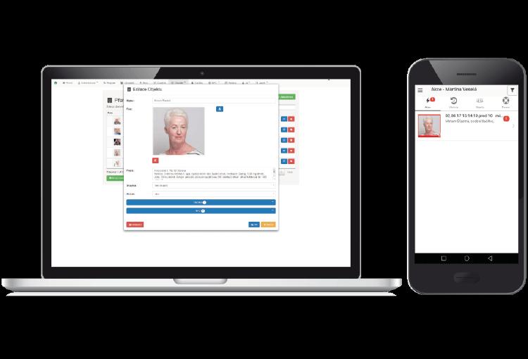 Mobilní a webová aplikace HelpCare