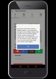 Detailní informace o uživateli zařízení